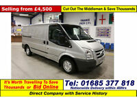 2011 - 61 - FORD TRANSIT T280 TREND 2.2TDCI 115PS FWD MWB VAN (GUIDE PRICE)