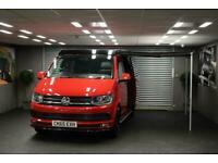 2015 65 VW TRANSPORTER 2.0TDi T6 T28 H-LN T1 Campervan 4 Berth 4 Seater