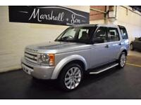 2008 58 LAND ROVER DISCOVERY 3 2.7 3 TDV6 GS 5D AUTO 188 BHP DIESEL