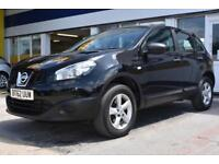 2013 62 NISSAN QASHQAI 1.6 2WD VISIA GOOD AND BAD CREDIT CAR FINANCE AVAILABLE