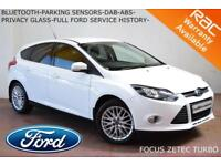 OCT 2012 Ford Focus 1.0 SCTi (125ps) EcoBoost Zetec-LOW MILES-FULL FORD S. HIST.