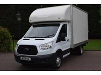 Ford Transit Luton With 500kg slim jim tail lift T350