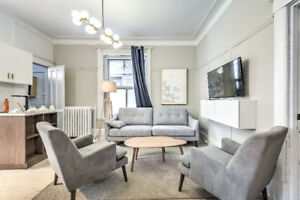 Downtown Renovated&Furnished 5 bed Student Apt-McGill/Concordia