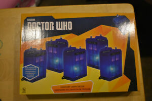 Brand new Doctor Who Tardis lights- indoor/outdoor
