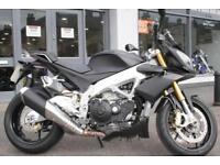 Very Tidy Black 2014 Aprilia Tuono 1000V4R at Teasdale Motorcycles, Yorkshire