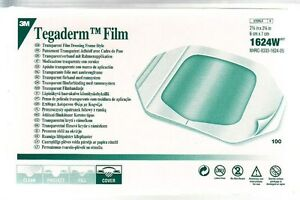 3M 1624W TEGADERM TRANSPARENT DRESSING 2 3/8