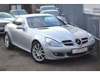 2007 Mercedes-Benz SLK SLK200 Coupe Convertible 1.8K 163 A5 Petrol silver Automa