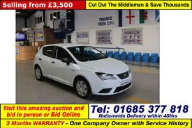 2012 - 62 - SEAT IBIZA S AC CR ECOMOTIVE 1.2 TDI 5 DOOR HATCHBACK (GUIDE PRICE)