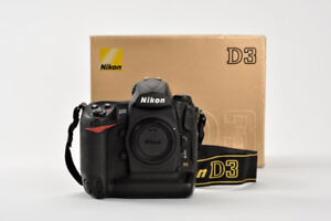 Nikon D3 DSLR 12.1MP FX Pro Body & Tamron SP AF 17-35mm F2.8-4