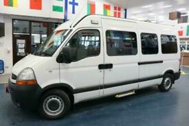 2010 - 10 - RENAULT MASTER LM35 2.5DCI 120PS 8 SEAT DISABLED ACCESS MINIBUS
