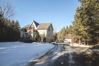 GEORGEOUS PRIVATE COUNTRY HOME -19325 GLEN RD SOUTH GLENGARRY