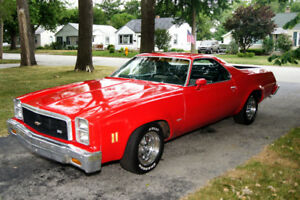 1977 EL CAMINO, VERY RARE, OFFERS OR TRADE FOR WINTER VEHICLE!!