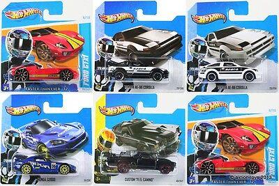 Hot Wheels FORD HONDA TOYOTA CHEVY toy cars GT S2000 COROLLA CUSTOM 1:64 - NEW!