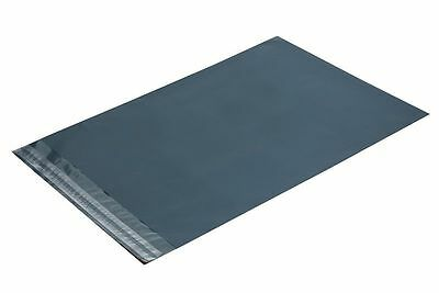 5 Premium Grey Mail Mailing Postal Bags 10 x 14 (250x350mm) Plastic Packaging
