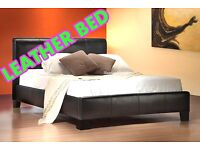 BEAUTIFUL BRAND OFFER DOUBLE LEATHER free mattress fast delivery