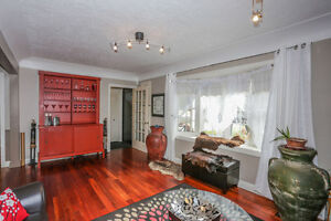 Solid brick bungalow on 2.36 acres within the City limits London Ontario image 3