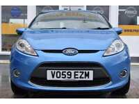 BAD CREDIT CAR FINANCE AVAILABLE 2009 59 FORD FIESTA 1.4TDCi ZETEC
