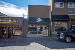 Salmon Arm - 1,050sqft Prime Storefront Retail on Hudson Avenue