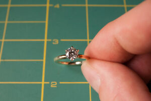 0.62 Engagement Ring, Clarity SI1, Color E (Colorless), Cut VG