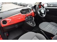 2018 Fiat 500 1.2 Lounge Dualogic (s/s) 3dr Petrol Semi Auto
