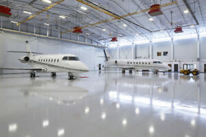 Aircraft hangar space Peterborough CYPQ