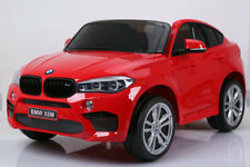 BMW X6M Licensed 12v Kids Ride On Car Electric Battery Powered 2 Seat Leather