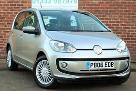 Volkswagen up! 1.0 75ps High Up Manual Petrol 5 Door Hatchback Metallic Silver