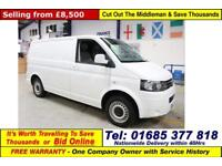 2013 - 63 - VOLKSWAGEN TRANSPORTER T28 2.0TDI 84PS SWB VAN (GUIDE PRICE)