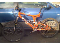 Aluminium Mountain Bike GT I drive, Original paintwork, 21INCH MEDIUM FRAME.