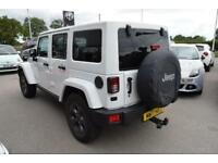 2017 Jeep Wrangler 2.8 CRD Night Eagle 4x4 4dr Diesel white Automatic