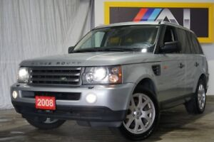 2008 Land Rover Range Rover Sport 4WD,HSE,Navi,Leather,Sunroof