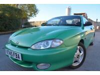 HYUNDAI COUPE SE 1.6*ONE LADY OWNER FROM NEW*LOW MILEAGE*FULL LEATHER INTERIOR*