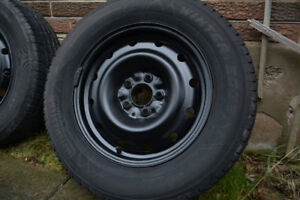Snow tires to fit Dodge Caravan, Town and Country vans 215-65-16