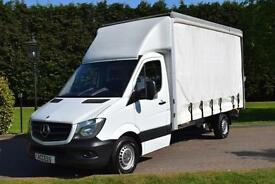 Mercedes Benz Sprinter Curtain-sider 313 cdi with 500kg tail lift
