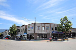 Salmon Arm -  947sqft Storefront Retail Space for Rent