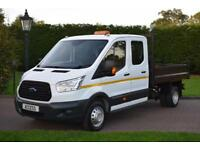 Ford Transit D/cab Tipper T350 2.2 tdci 125 ps