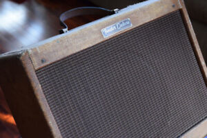 1959 Fender Tweed Deluxe-Yes it's a real one