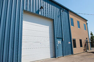Small Warehouse and service bays