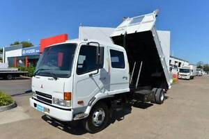 MITSUBISHI FIGHTER FK6 ** DUALCAB ** TIPPER ** #4922 Archerfield Brisbane South West Preview