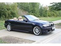 BMW 318 2.0 2004 Ci M-Sport NEW MOT CREME LEATHER ELECTRIC SEATS / HEATED CONV