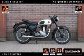 BSA B31 1957 - ORIGINAL 1957 FRAME- LATER 1958 ENGINE - 50 MILES SINCE REBUILD