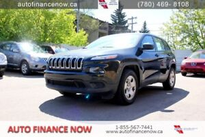 2014 Jeep Cherokee Sport 4WD CHEAP $158 biweekly WINTERISED