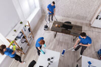 Cleaning subcontractors available
