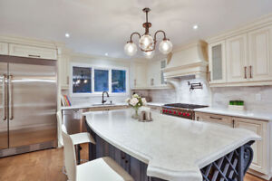 Kitchen Cabinet and Granite/Quartz Countertop