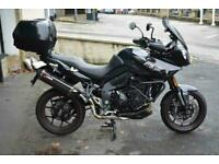 Triumph Tiger 1050 Sport, 2020, full luggage and more