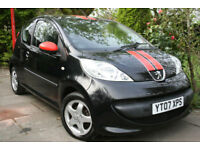 Peugeot **107** 1.0 ~Sport XS~ *£30 Road Tax* 3 Door 69k miles 2007