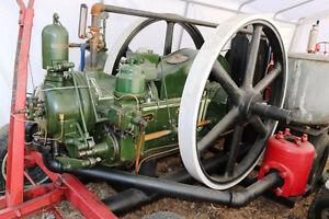 MASSIVE  ESTATE SALE RUSTON HORNSBY ELEVATOR ENGINE