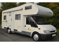 2005 Chausson WELCOME 27 6 BERTH MOTORHOME FOR SALE