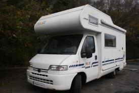 Pilote D45 5 Berth, Over Cab Bed and End kitchen for sale