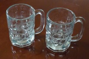 Pair of Small (Kiddie-size) A&W Root Beer Mugs